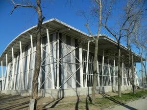 El gimnasio de la Pontificia Universidad Católica de Chile