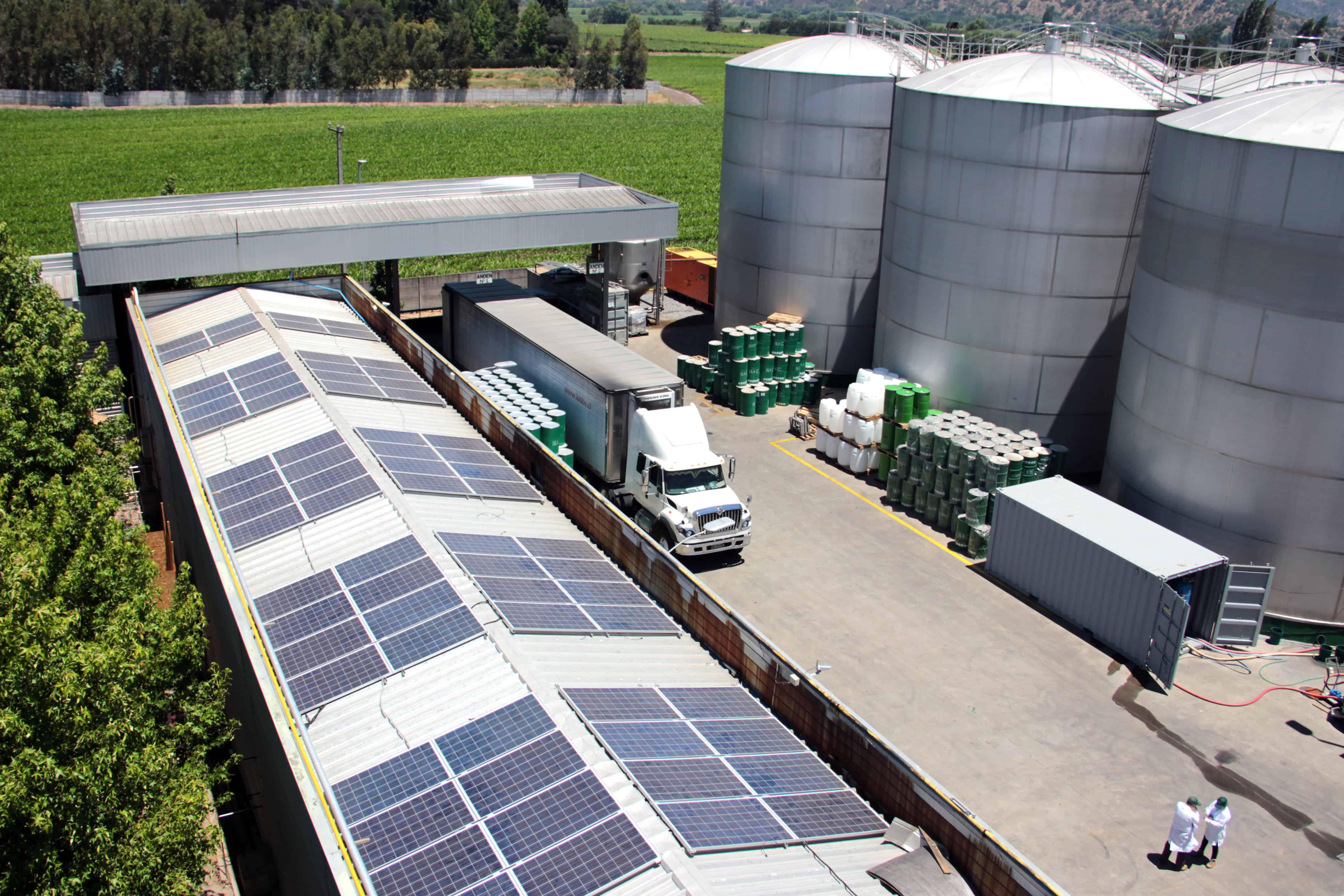 mostos del pacifico cintac solar fotovoltaico